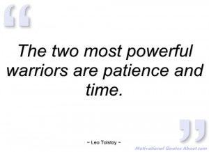 Warrior Quotes And Sayings The two most powerful warriors