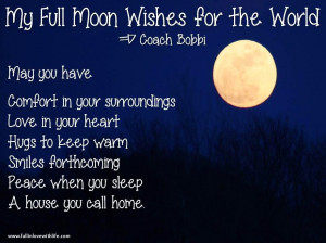 Full Moon Quotes Sayings
