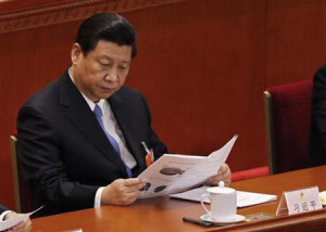 Xi Jinping in Beijing March 10, 2013. REUTERS/Kim Kyung-Hoon