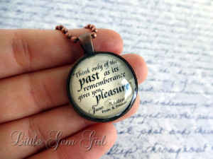 Wizard of Oz Book Quote Necklace - Some People Without Brains... Book ...