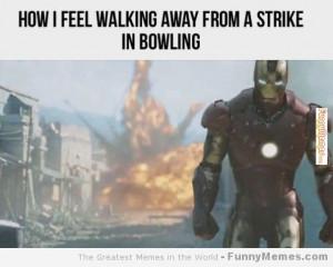 via http www funnymemes com funny memes a strike in bowling