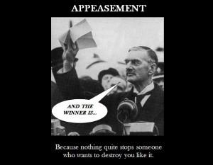 Neville Chamberlain Appeasement