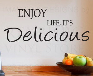 Details about Wall Decal Sticker Quote Vinyl Lettering Large Life is ...