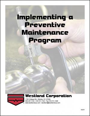 Ambiguous Preventive Maintenance Programs May 7, 2012 4:02:00pm