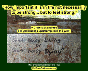 Chris McCandless Quotes