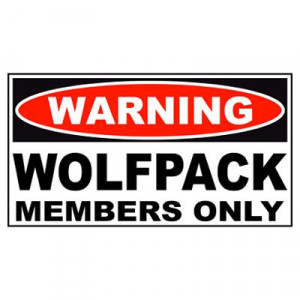 Wolfpack Only (Hangover 2) Poster