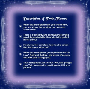 Description of Twin Flames