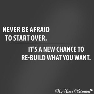 Inspirational Quotes About Starting Over