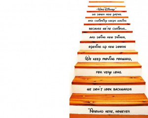 Shelby, Walt Disney Quote Stair Decal