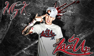 MGK Lace Up Background by Panscx