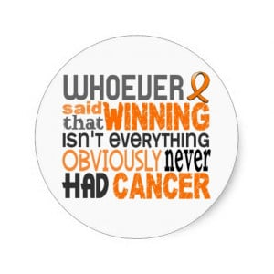 Whoever Said Kidney Cancer Sticker