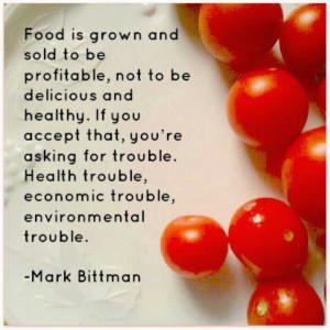 Mark Bittman quote