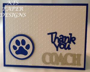 Coach Thank You Team Colours
