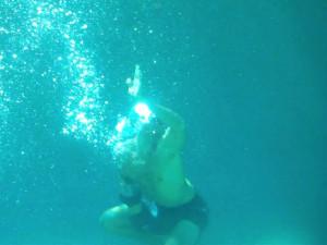 extreme underwater workouts...