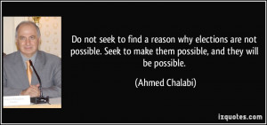 More Ahmed Chalabi Quotes