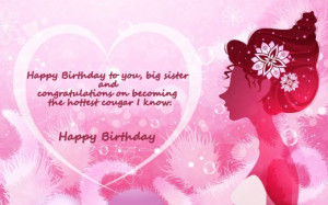 Funny Older Sister Birthday Quotes Happy birthday big sister