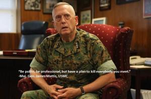 General Mattis Quotes Maj gen mattis