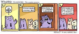 Teamwork and the creative process