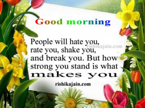 ... Good morning Inspirational Quotes, Motivational Pictures and Wonderful