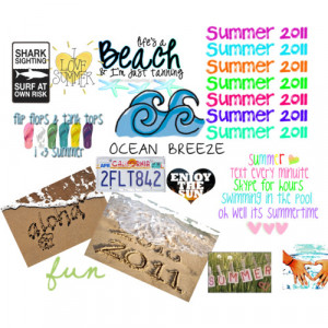 summer quotes - Polyvore