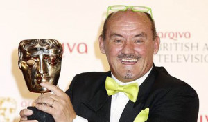 Brendan O'Carroll with his Academy award for Best Male Performance in ...