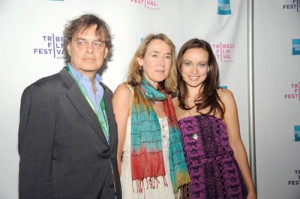 Andrew Cockburn, Leslie Cockburn and Olivia Wilde