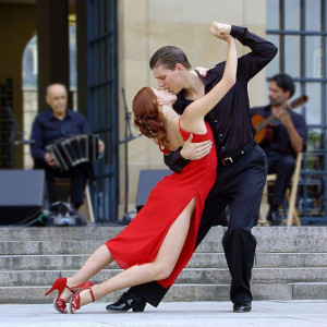it takes two people - a man and a woman to have a wonderful tango ...