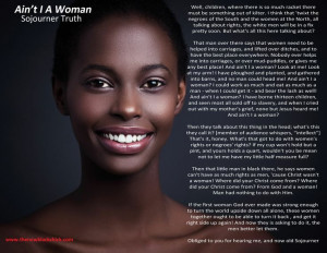Ain't I A Woman by Sojourner Truth