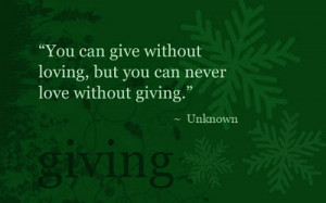 Theres No Joy As Joy of Giving