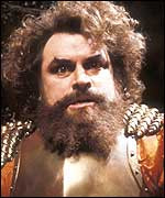 The closest thing I have to a religion is Brian Blessed...