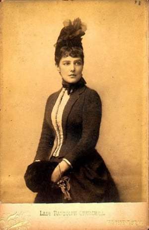 Jennie Jerome in 1874