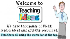 ... lesson ideas and activity resources. Find them all using the menu bar
