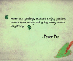 Peter Pan Quotes About Growing Up Cute peter pan quote images