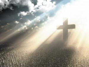 Lift Up The Cross Papel de Parede Imagem