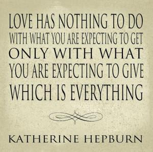 Strong Women Katherine Hepburn Quote Series Art Block 12x12 Word Art ...