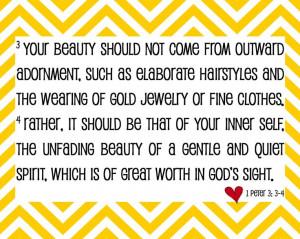 true beauty bible verse - Google Search