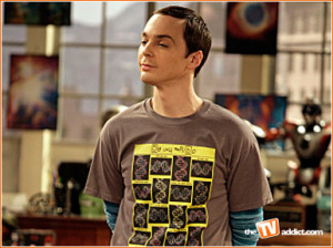 Sheldon Cooper, a nerd.
