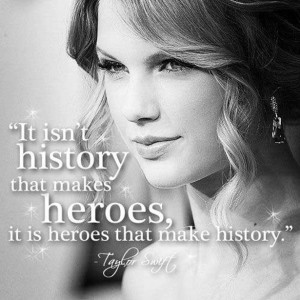 ... Taylor Swift quotes over photos of Hitler. Better than the original