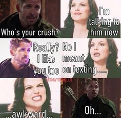 Once Upon a Time - Regina - Robin Hood - OUAT - Funny - Ms.MayorMills ...