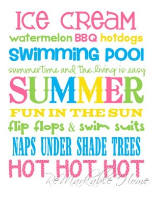Cute Quotes About Summer Fun #12