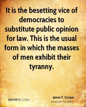 James F. Cooper Quotes