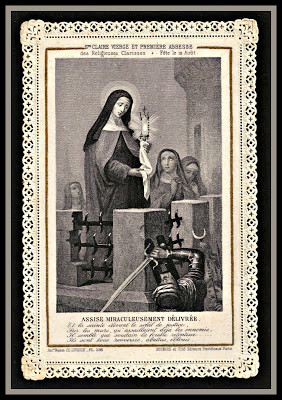 St. Clare of Assisi.....August 11