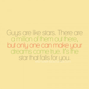 quotes for guys. Guys Are Like Stars