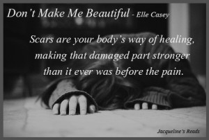 Giveaway + Book Review - Don't Make Me Beautiful by Elle Casey