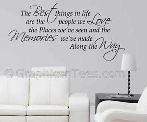 Family-Wall-Sticker-Inspirational-Quote-Best-Things-In-Life-Home-Wall ...