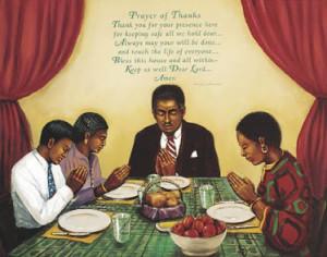 black prayer