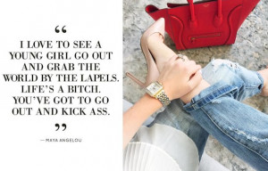 ... ARE HERE > HOME > FASHION > 7 FASHION QUOTES TO KICK-START YOUR WEEK