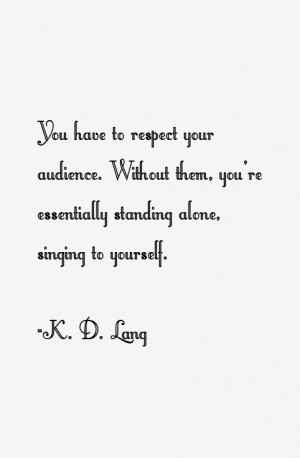 Lang Quotes & Sayings