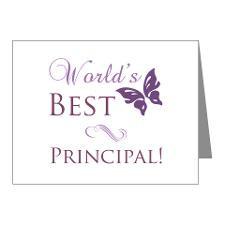 Principal Thank You Cards...