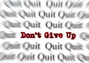 Never Give Up Quotes for Instagram